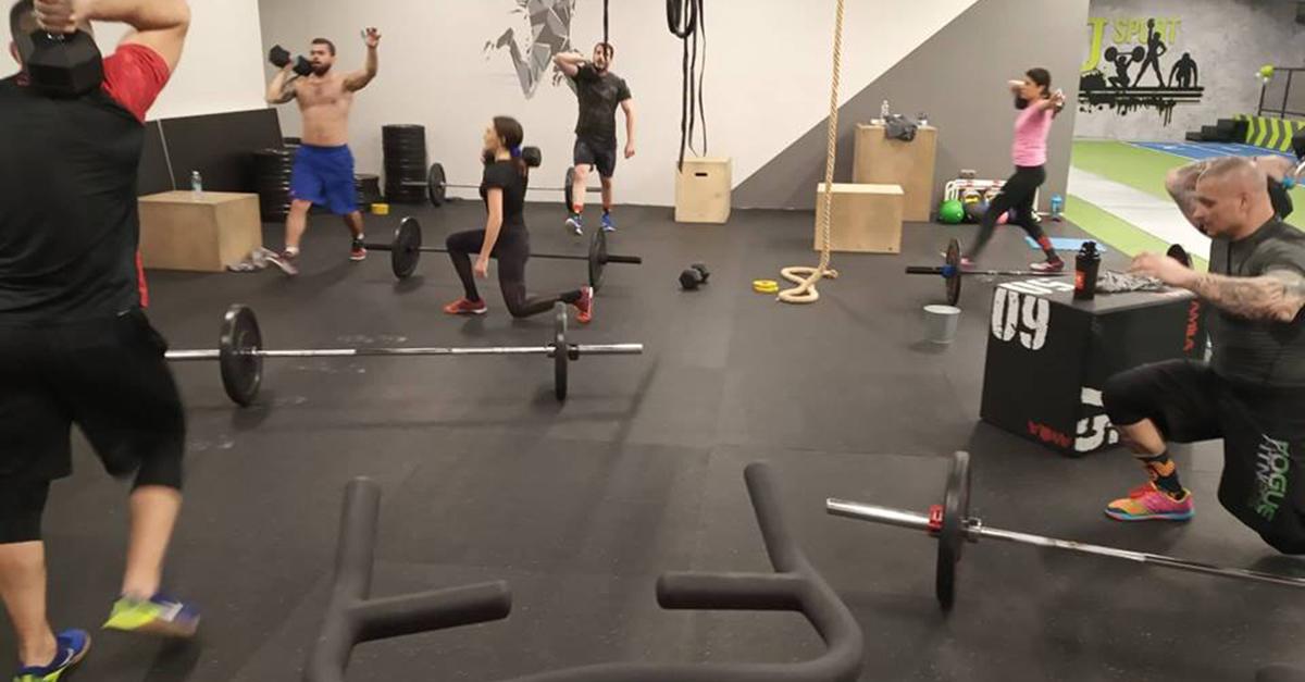 Кросфит тренировка в София